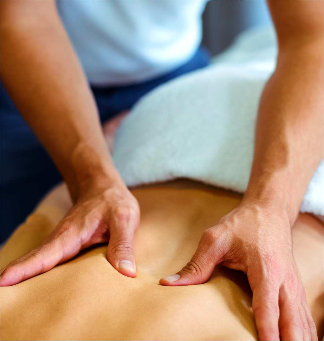 Sports massage is also offered by our massage therapists.